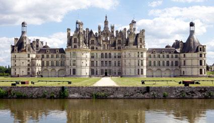 Viagens imagens castelos e pal cios ch teau de chambord for Disegni di casa chateau francese